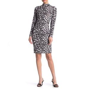 NWOT BLVD LA Leopard Body-Con Dress M